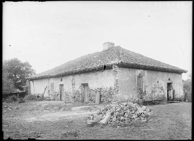 ARNAUDIN Félix : Château de Lalande - Sabres (Landes) (Titre attribué)