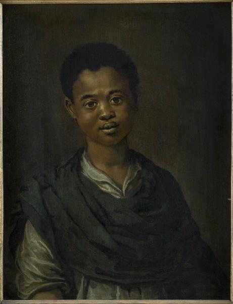 Portrait d'un jeune noir_0