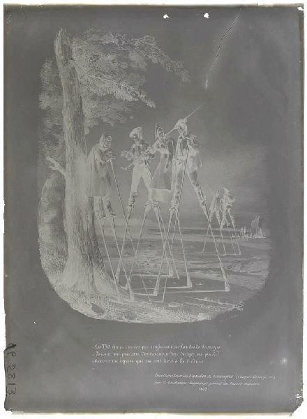 Reproduction d'une gravure du livre de Deschamps (Titre attribué)_0