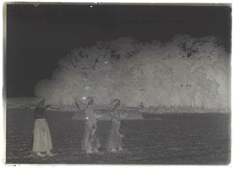 Femmes dans un champ - Bern (Pissos) (Titre attribué)_0
