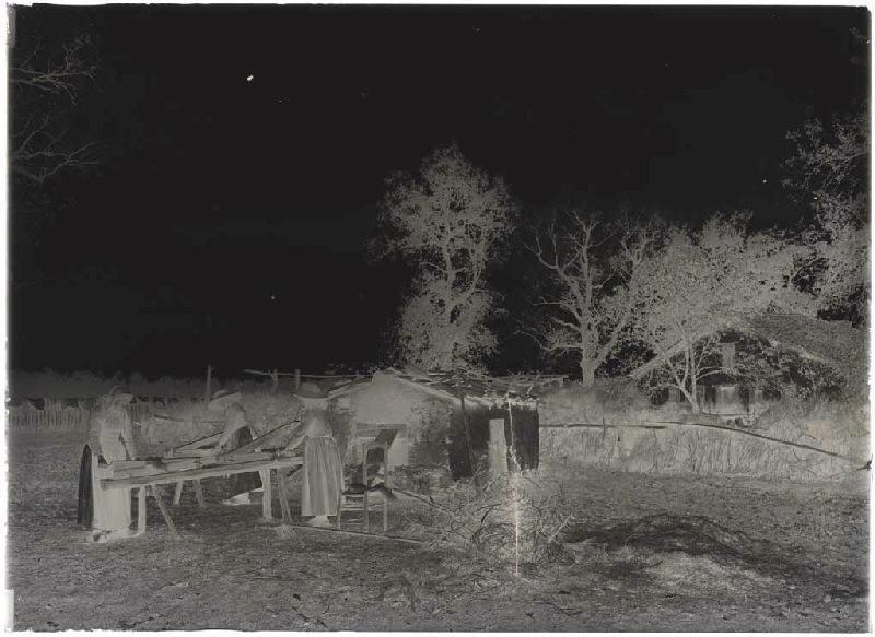 Bargayres, scène de teillage - Lapoussade (Commensacq) (Titre attribué)_0