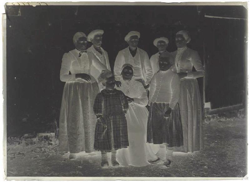 ARNAUDIN Félix (photographe) : Portrait de famille