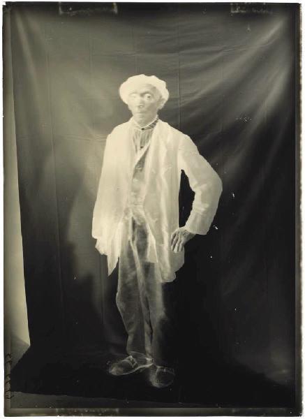 ARNAUDIN Félix (photographe) : Homme âgé