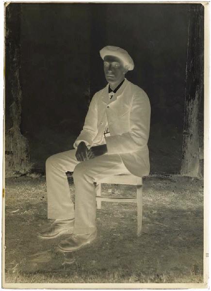 ARNAUDIN Félix (photographe) : Jeune homme
