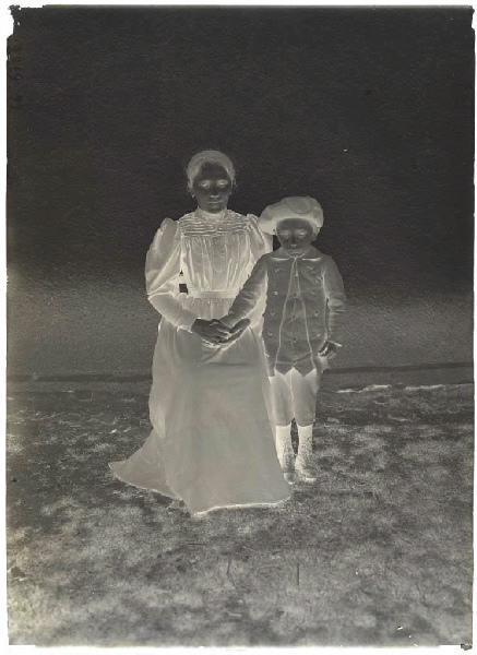 Marguerite Boudé et son cousin_0