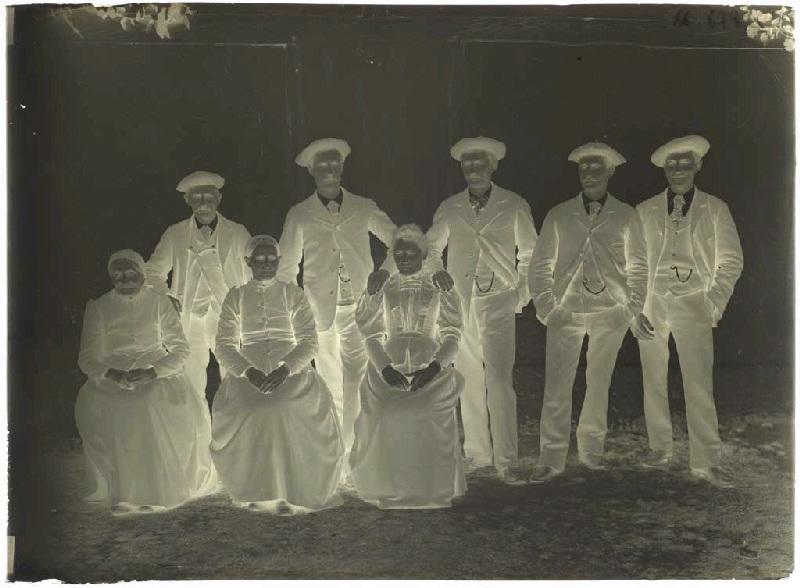 ARNAUDIN Félix (photographe) : Famille Lalanne