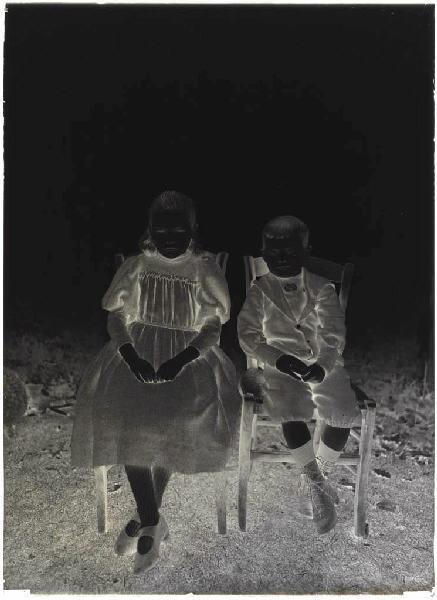 ARNAUDIN Félix (photographe) : Enfants de Caliot