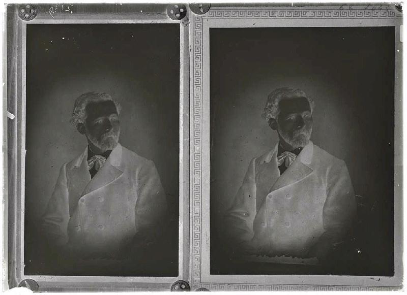 ARNAUDIN Félix (photographe) : Reproduction du portrait de Félix Arnaudin