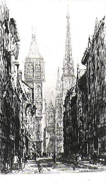 La rue du Gros Horloge (Rouen)_0