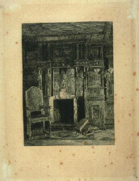La cheminée de la galerie de chêne_0