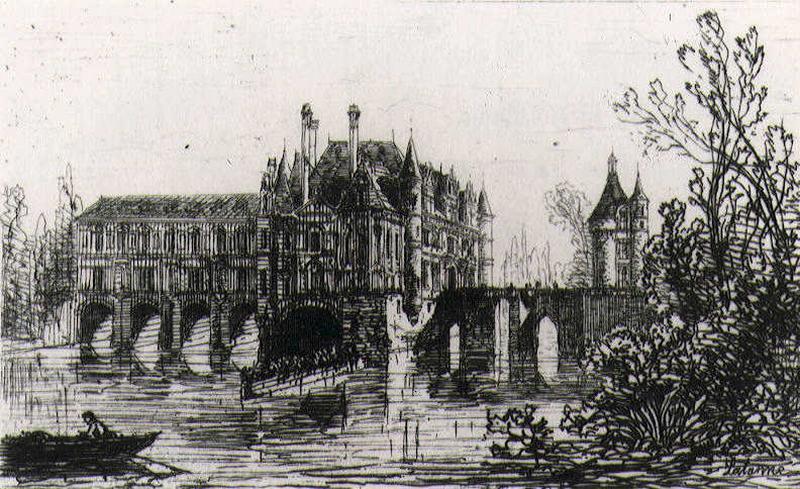 Le château de Chenonceaux_0