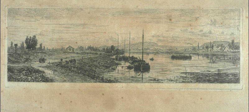 La Seine à Argenteuil ; Paysage avec rivière (ancien titre)_0