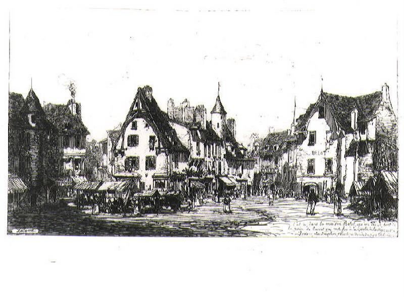 A Cusset près de Vichy