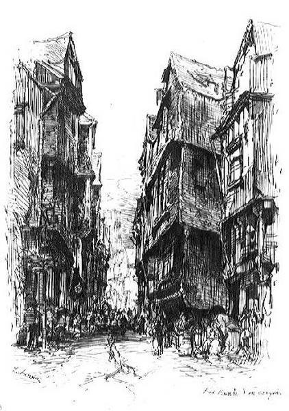 Rue à Morlaix_0