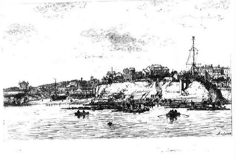 Port de La Plataine à Royan