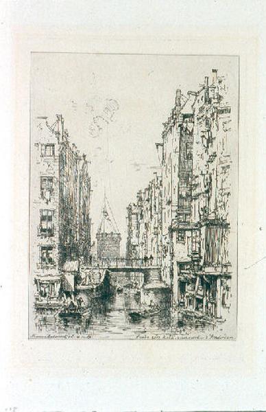 L'Oude Zids Kolk. Vieux quartier d'Amsterdam_0