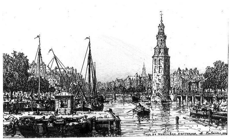 Amsterdam. La tour de Montalban_0