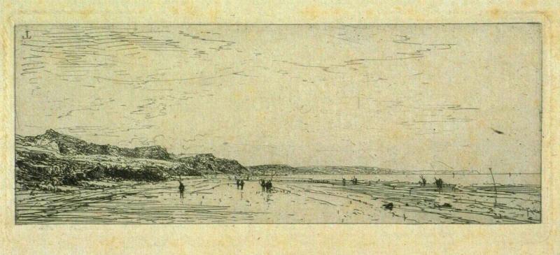 Plage d'Houlgate (Calvados)