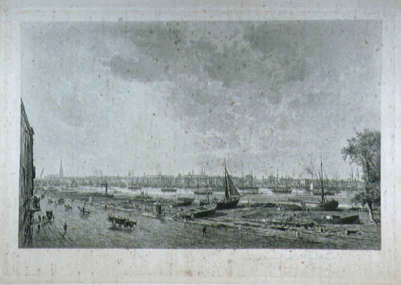 Le port de Bordeaux vu de la rive droite_0