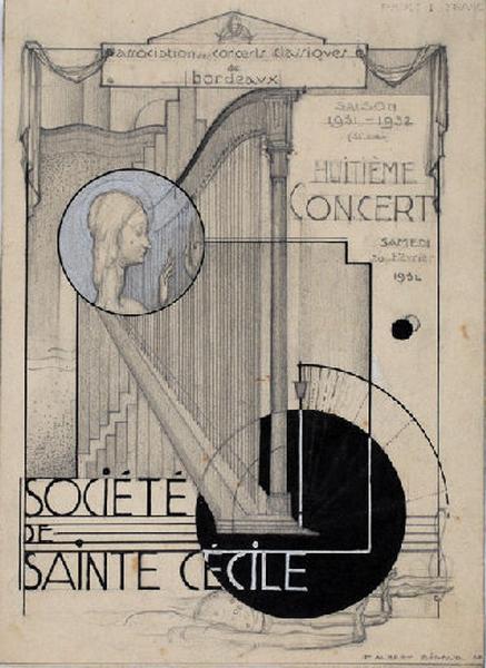 Société Sainte Cécile. Huitième concert_0