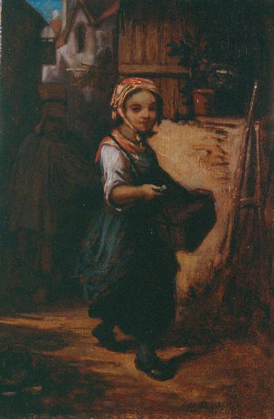 Enfant au panier
