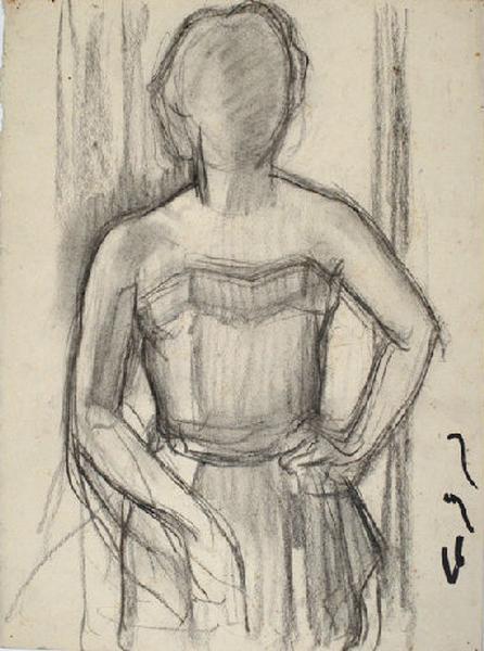 Etude pour le portrait de Madame Guattari_0