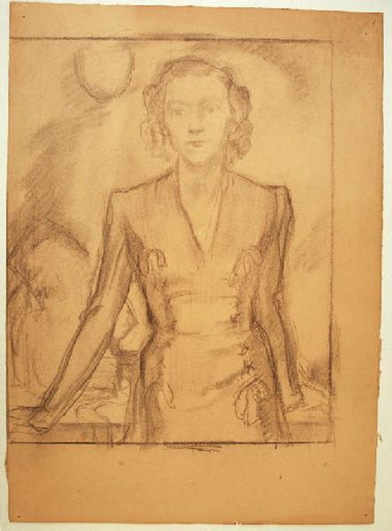 Etude pour le portrait de madame Lefèvre
