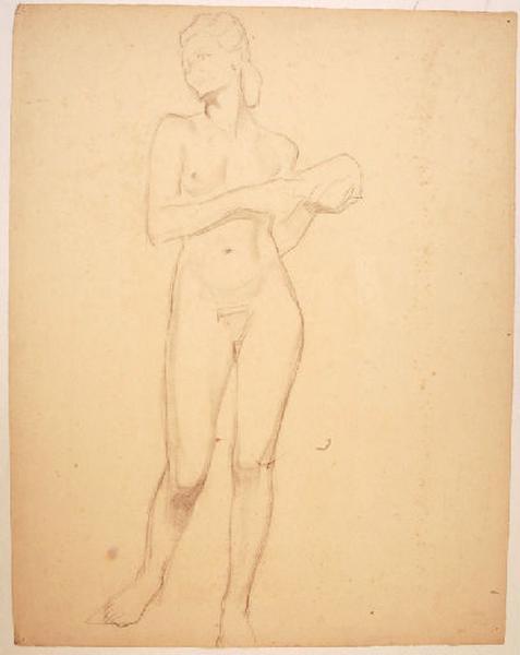 Etude de nu féminin pour la Raison dans la Joie, l'Ivresse et la Raison_0