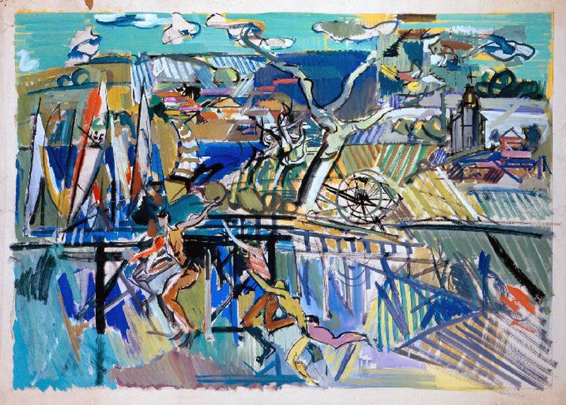Etude pour la peinture murale Jeunesse (2)_0