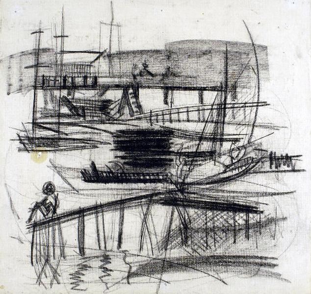 L'embarcadère à Piquey