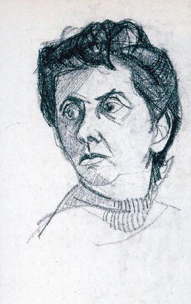 Portrait de Paule, épouse de l'artiste_0