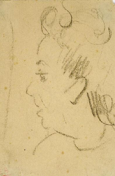 Portrait de Paule de profil