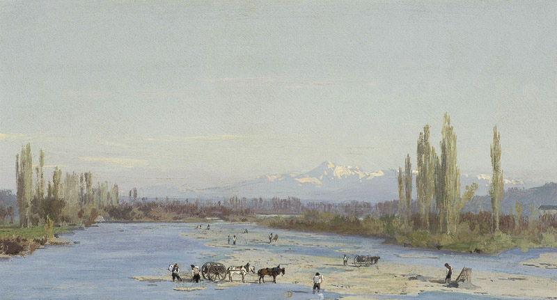 Le Gave de Pau et le pic de Midi de Bigorre_0