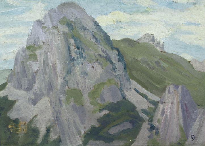 DAMELINCOURT Hubert : Le Billarenx côté nord