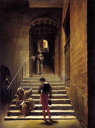 Intérieur de couvent à Rome_0