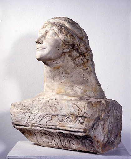 BOURDELLE Emile Antoine : Le Sphinx