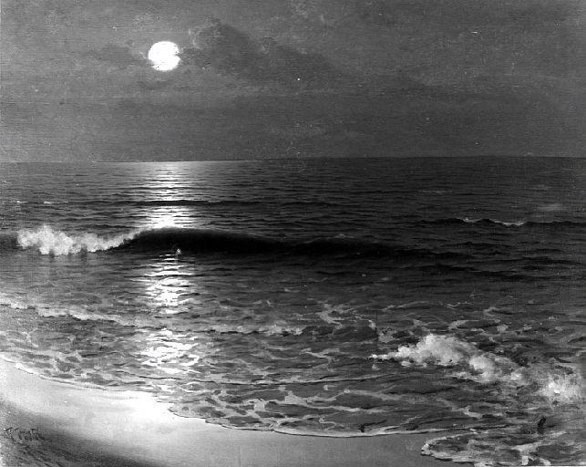 GOMEZ GIL Guillermo : Lever de lune
