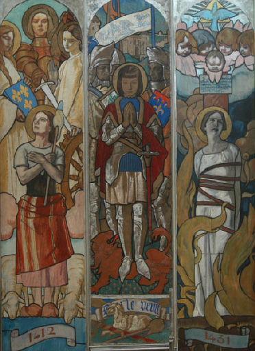 Jeanne d'Arc entendant les voix