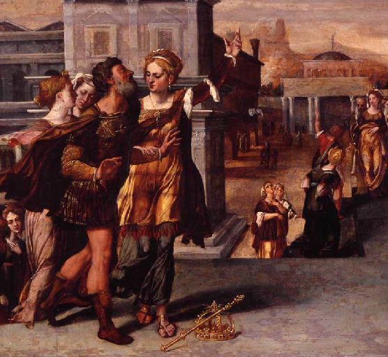 anonyme : Auguste et la Sibylle de Tibur