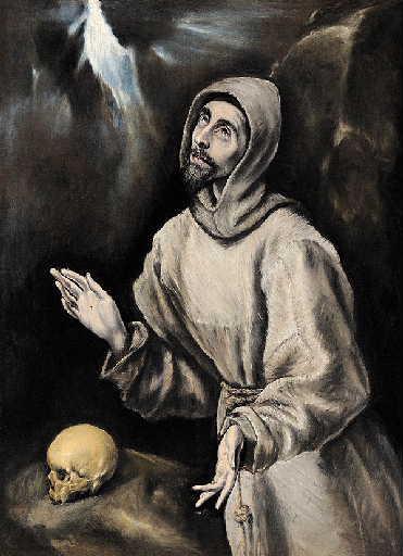 THEOTOCOPOULOS Domenicos, GRECO EL (dit) : Saint François recevant les stigmates