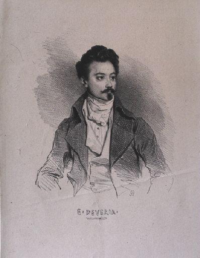 Portrait d'Eugène Deveria_0