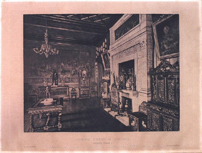 Chambre d'Henri II d' Albret