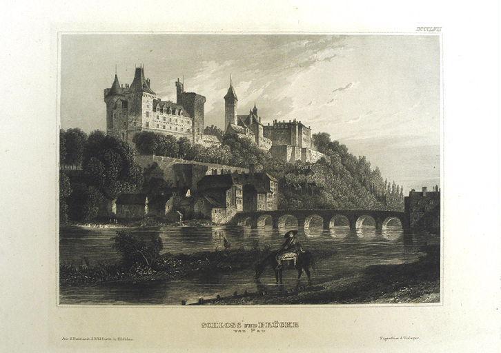 Schloss und Brücke von Pau_0