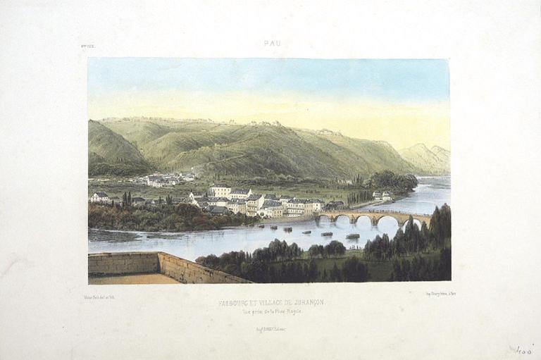 Faubourg et village de Jurançon