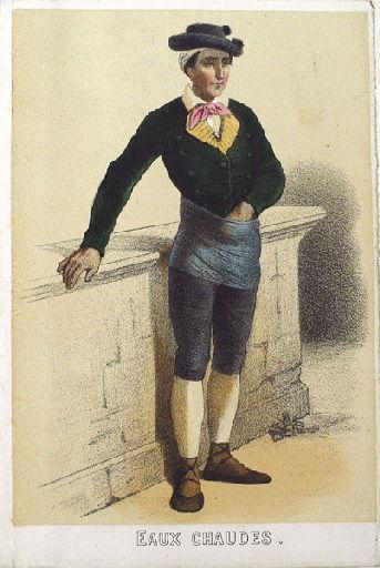 Homme des Eaux-Chaudes (titre factice)