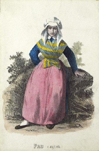 Pau, femme avec un tablier (titre factice)_0
