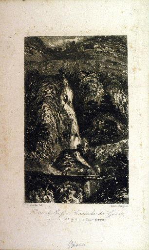 Pont d'Enfer, cascade de Goust, promenade d'Argout aux Eaux-chaudes._0