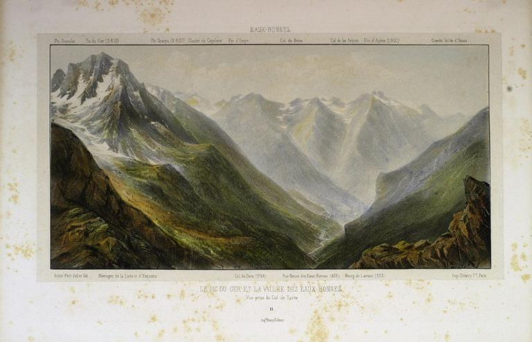 Le Pic du Ger et la vallée des Eaux-Bonnes_0