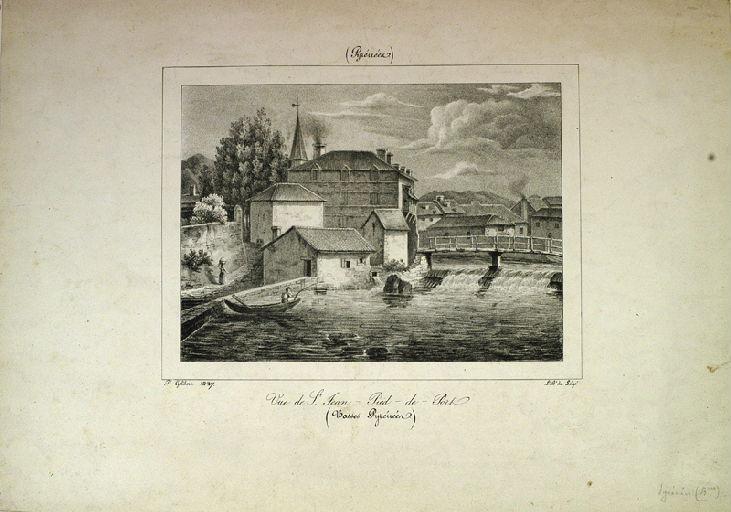 Vue de Saint-Jean-Pied-de-Port_0