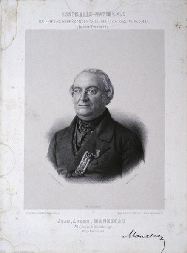 Portrait de Jean André Manescau_0